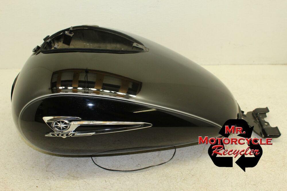 Ebay Sponsored Yamaha V Star 1100 Classic Custom Black Oem Gas Tank Fuel Petrol K12 Yamaha V Star Yamaha Petrol