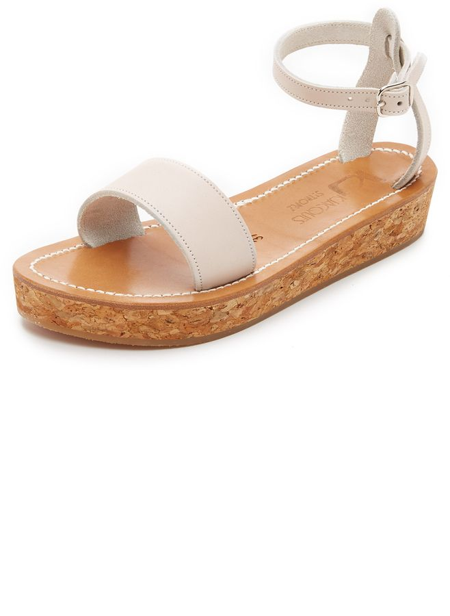 04886d8066a K. Jacques Talloire Flatform Sandals
