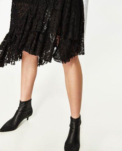 Mi Zara Trf Faldas In Encaje España Volantes Closet Falda Eqt0wIn 6720822e6e85