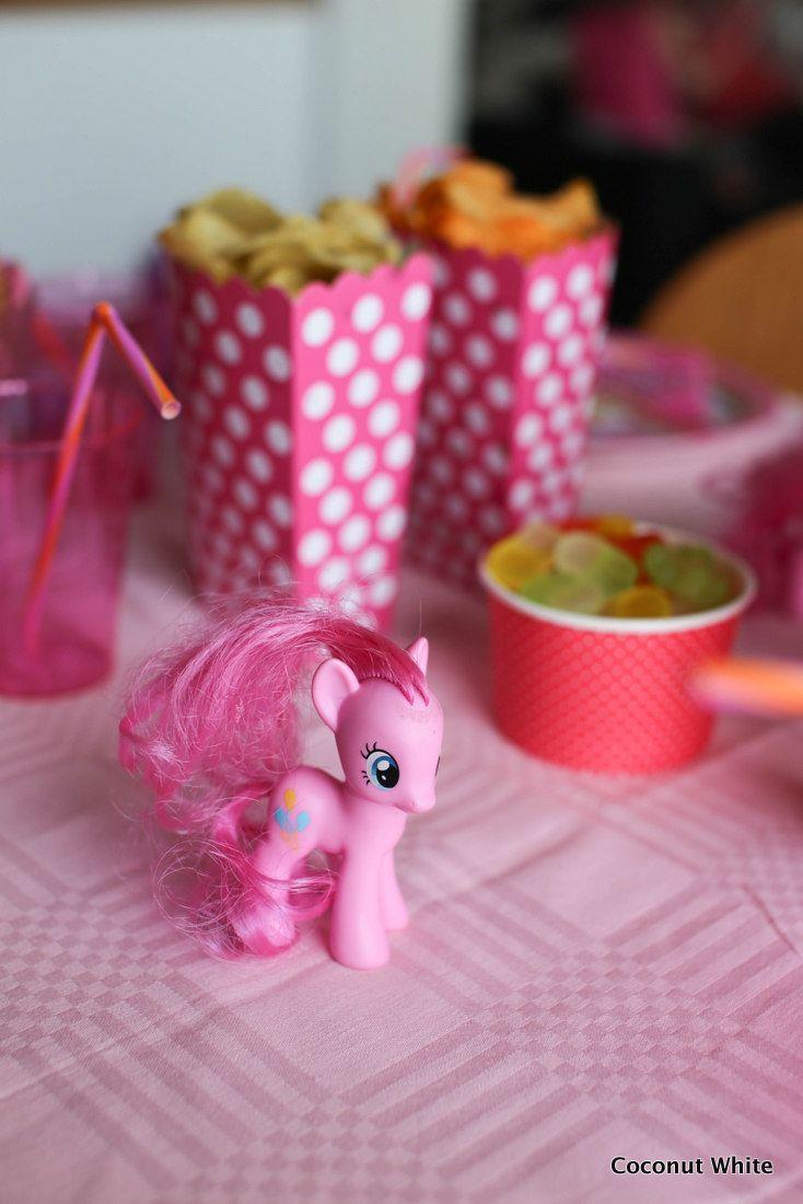 Coconut White: Tyttöjen syntymäpäiväjuhlien viettoa My Little Pony-teemalla