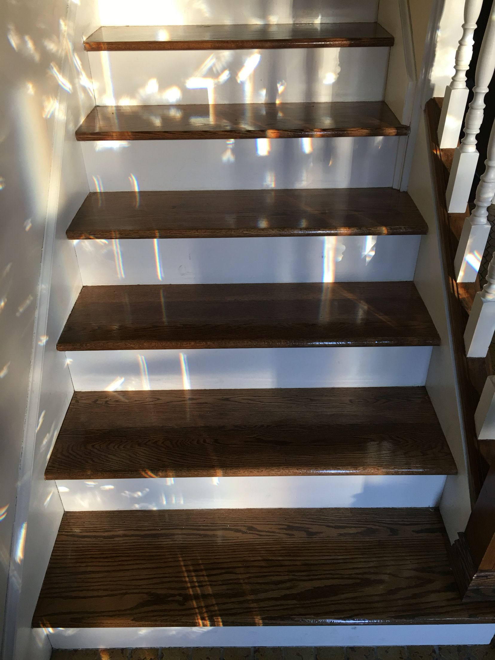 Best Refinished Stair Treads Stairs Refinish Stairs Stair 640 x 480