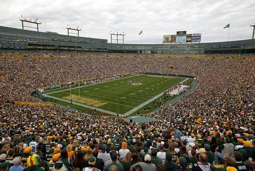 Go to a Packers game <3