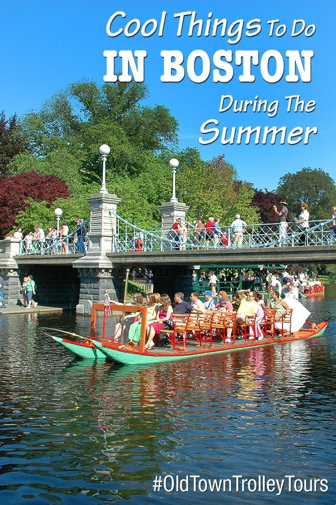 Cool Things To Do In Boston During The Summer With Images Cool