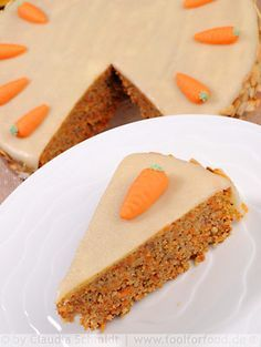 The One and Only Swiss Carrot Cake (Aargauer Rüeblitorte)