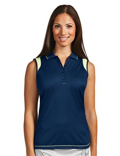 Flirt 100765 Womens Performance Golf Polo by Antigua. Buy it @ ReadyGolf.com
