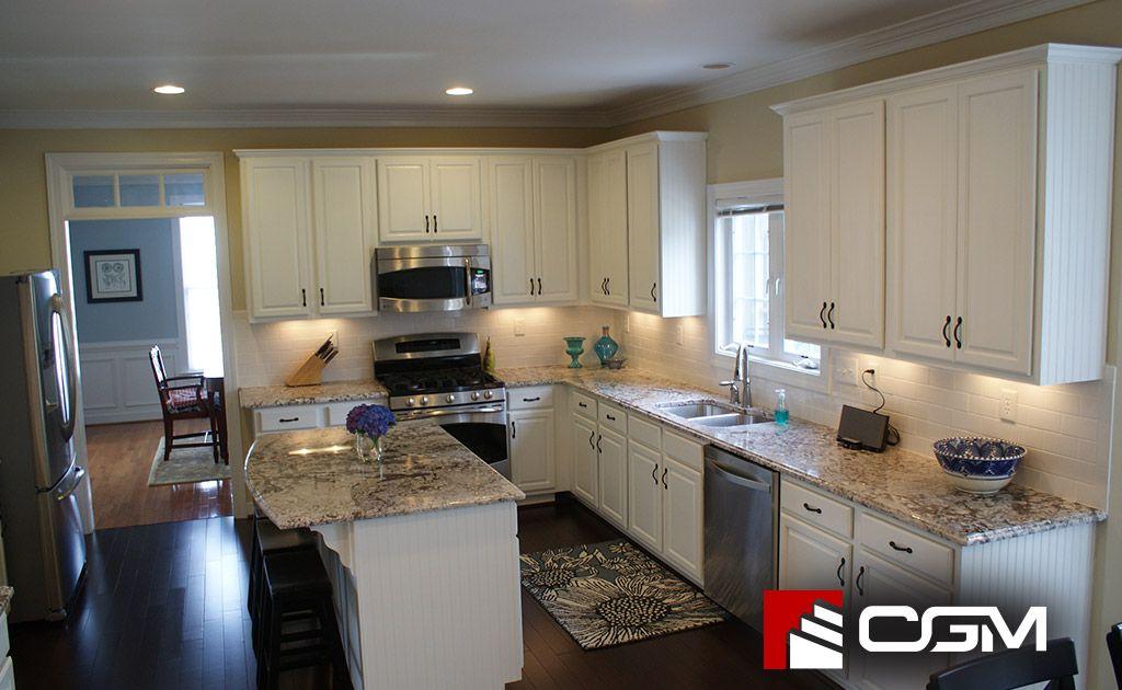 White Diamonds | Classic Granite Kitchen Countertops, Richmond VA