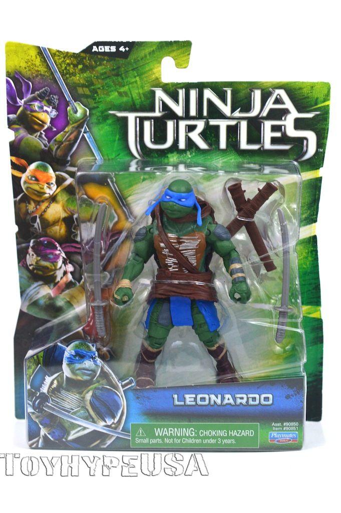 NEW 2014 Teenage Mutant Ninja Turtles Movie TMNT Set of 4 Action Figures Toys