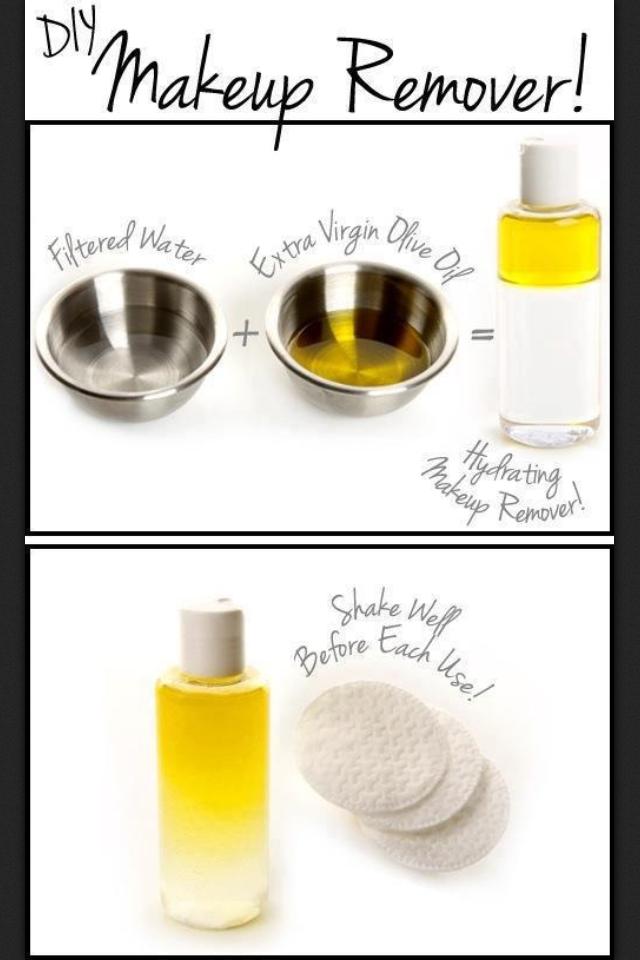 DIY Makeup Remover Diy makeup remover, Coconut oil
