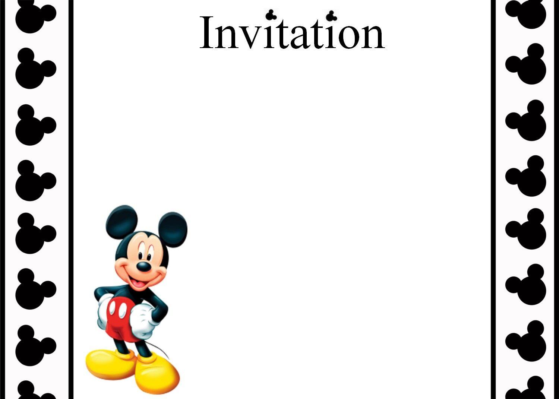 r sultat de recherche d 39 images pour carte d 39 invitation anniversaire mickey gratuite imprimer. Black Bedroom Furniture Sets. Home Design Ideas