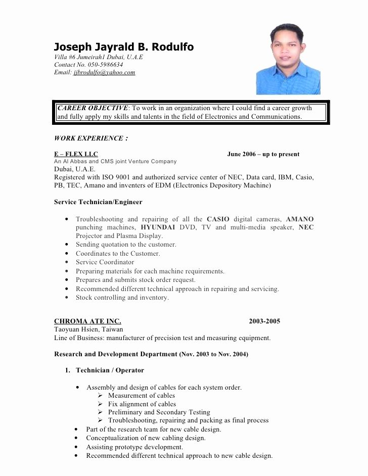 Resume Format Uae Resume Format Pinterest Resume format - Simple Format For Resume