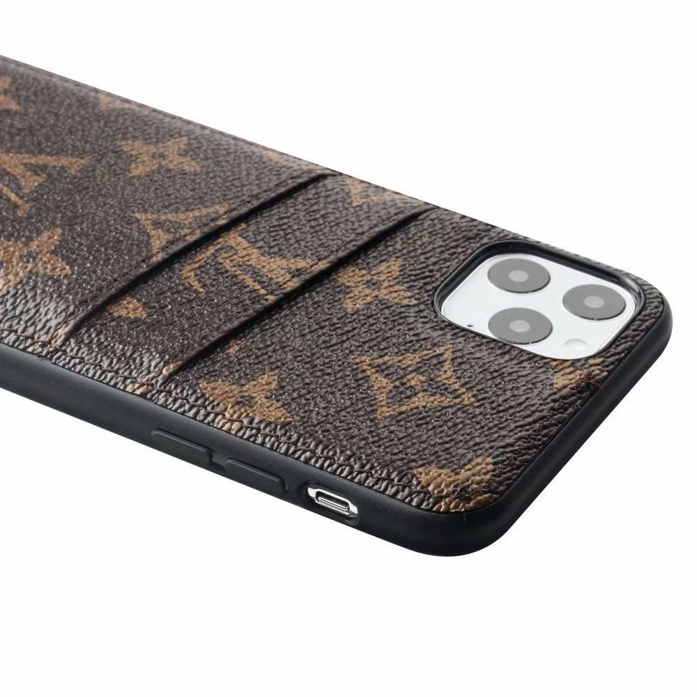 Lv Gucci Inspired Iphone Samsung Case Cell Phone Card Holder Monogram Louis Vuitton Iphon Card Holder Phone Case Iphone Card Holder Case Cell Phone Card Holder