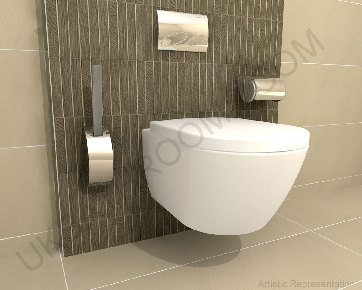 Wall hung bathroom suites - Laufen Pro Geberit Complete Wall Hung Toilet Pack Toilet Suitescloakroom Ideasbathrooms