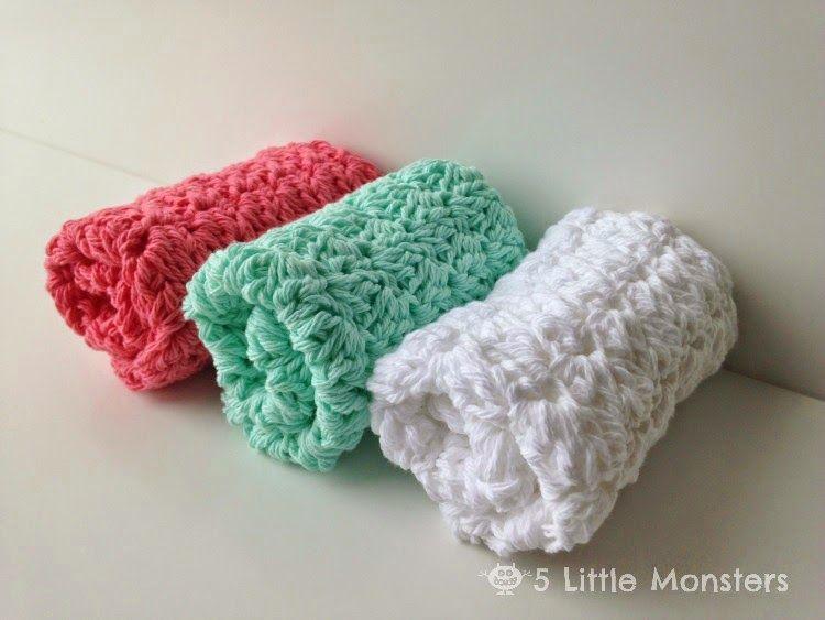 My Favorite Dishcloths: Sedge Stitch Dishcloth