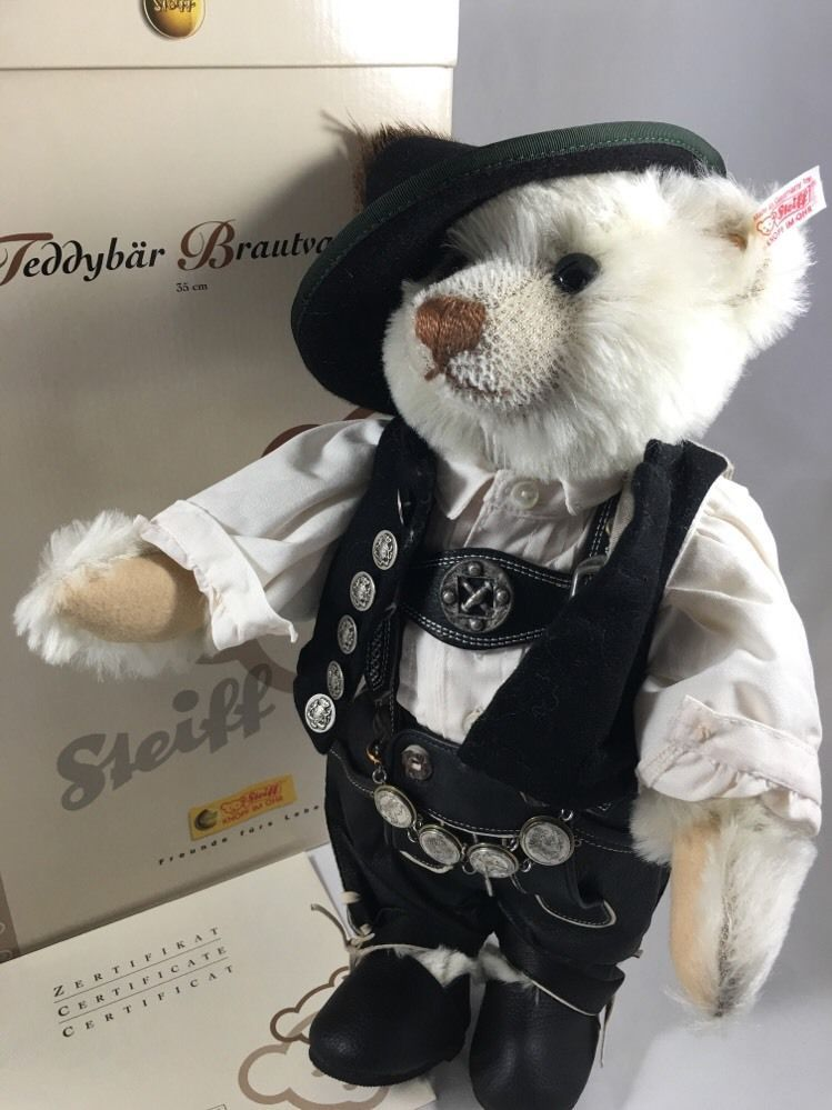 Steiff Teddy Bear Bride's Father Limited Edition 500 Worldwide - 2004 EAN 038082 | eBay