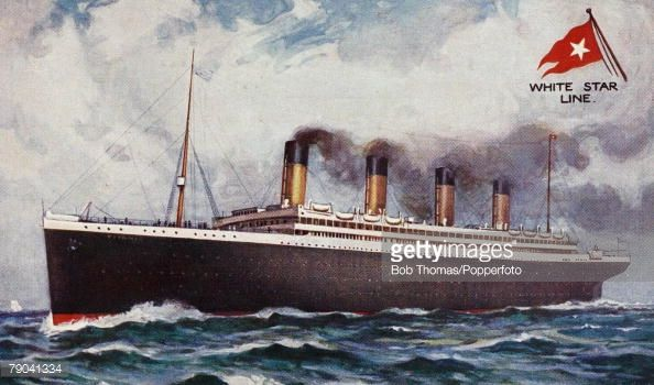 Postcards, Shipping A picture of the white star triple-screw steamer the -Titanic+ which was launched at Belfast on the 31st May 1911 and was the largest vessel afloat at the time, On its maiden...