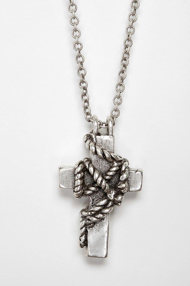 Sweet cross necklace!