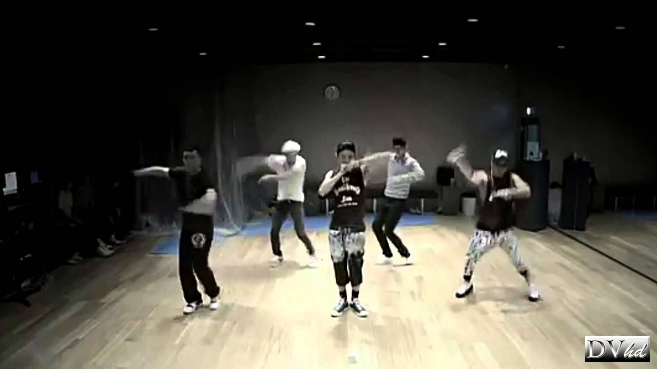 BigBang - Monster (dance practice) DVhd