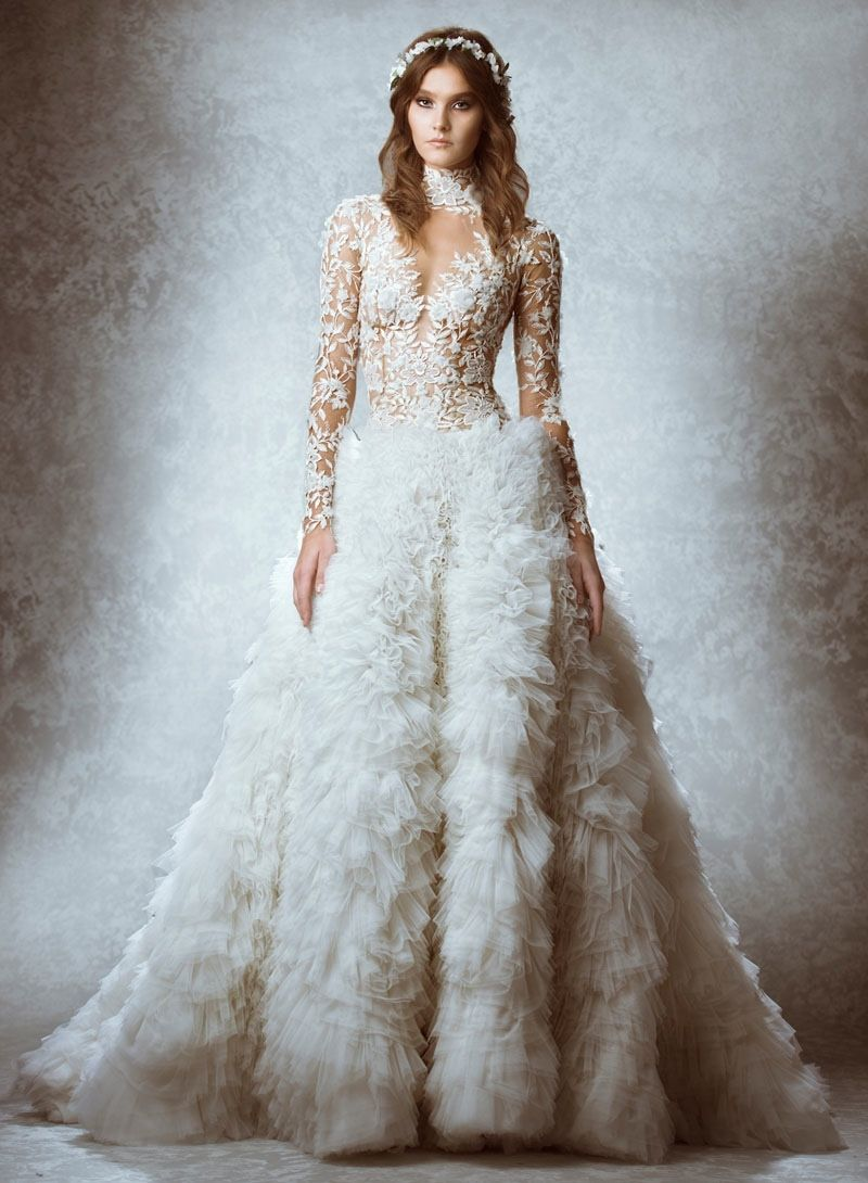 Zuhair Murad 2015 Fall Bridal Wedding Dresses (Photos) | Zuhair ...