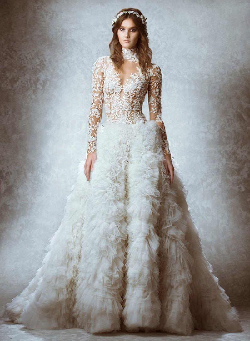 Zuhair Murad 2015 Fall Bridal Wedding Dresses (Photos) | Modista ...