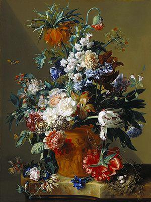 fruit print by huysum | Jan van Huysum Painting Reproductions Gallery