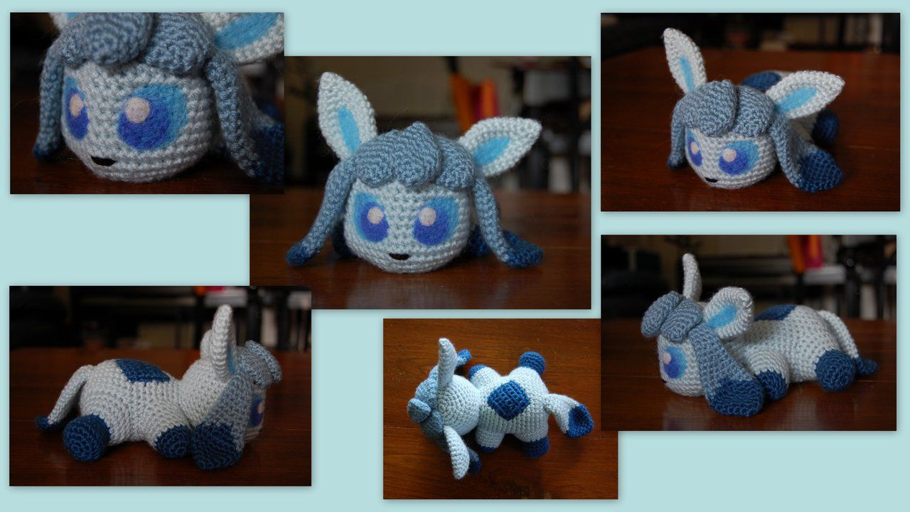 Baby Glaceon (with pattern) by aphid777.deviantart.com on ...