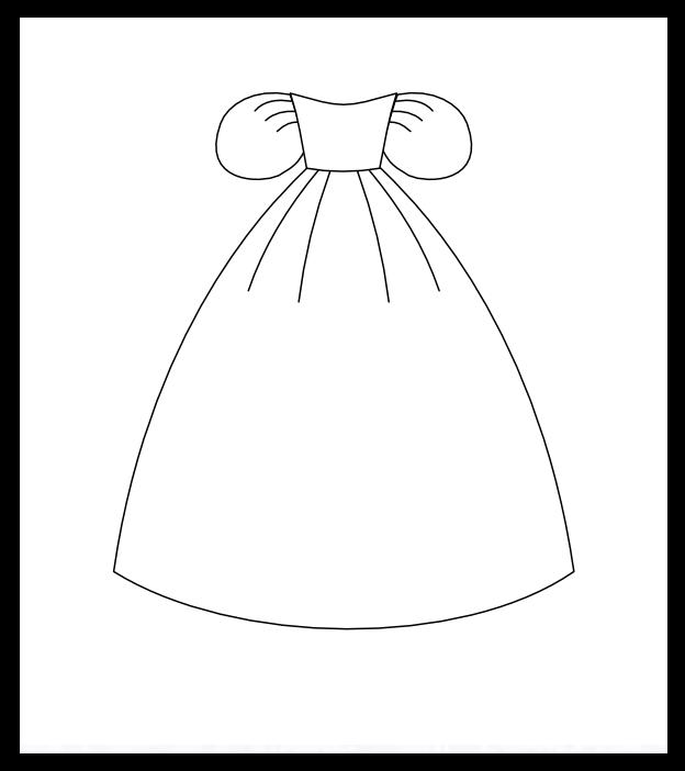 Princess Doll Dress Patterns