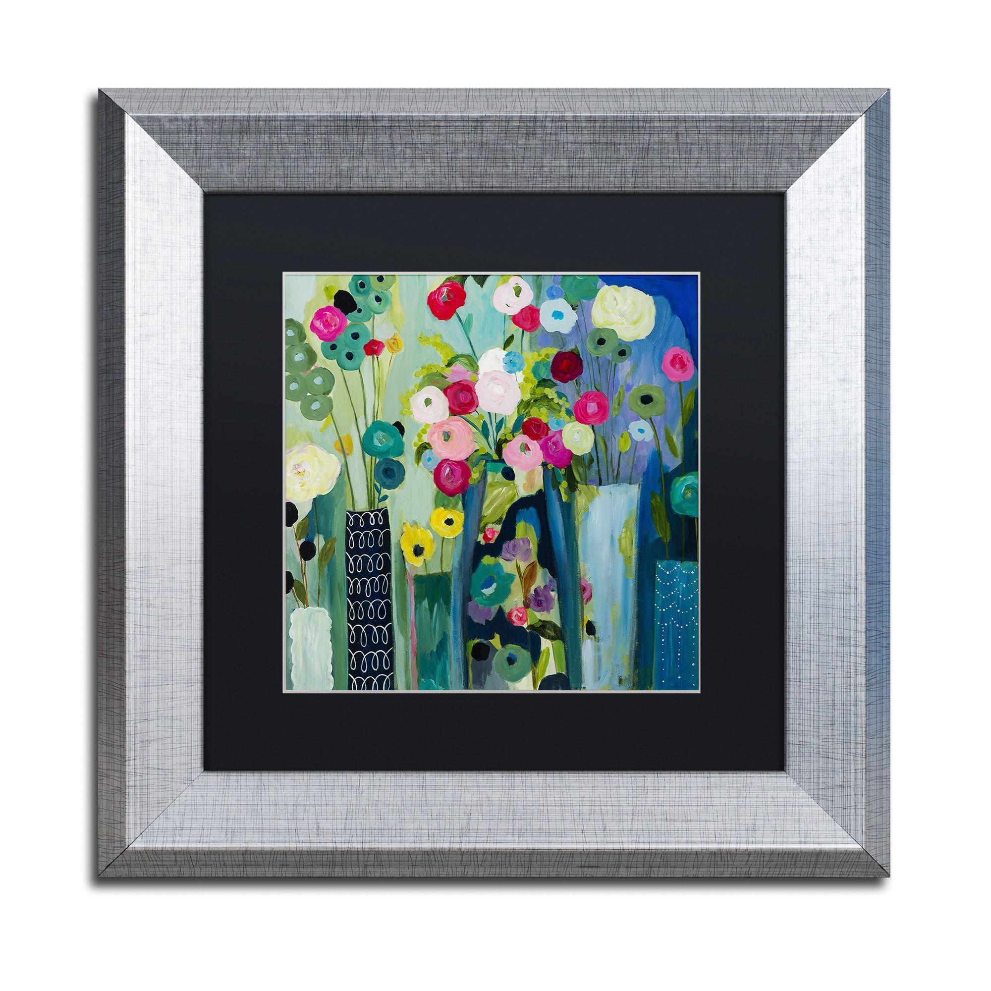 Carrie Schmitt \'Create Beauty Every Day\' Matted Framed Art ...