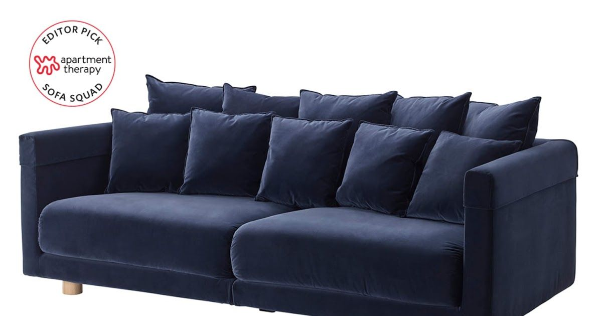The Best Most Comfortable Ikea Sofas Apartment Therapy Extraordinary Idea Bobs Furniture Sleeper Sofa Bob O Gel … | Ikea Sofa, Ikea Sofa Bed, Sofa Bed With Storage