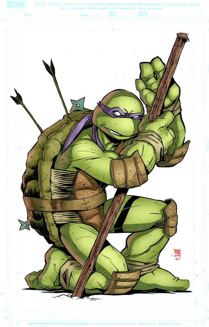 Donatello by kotecarvajal on DeviantArt | Teenage mutant ...