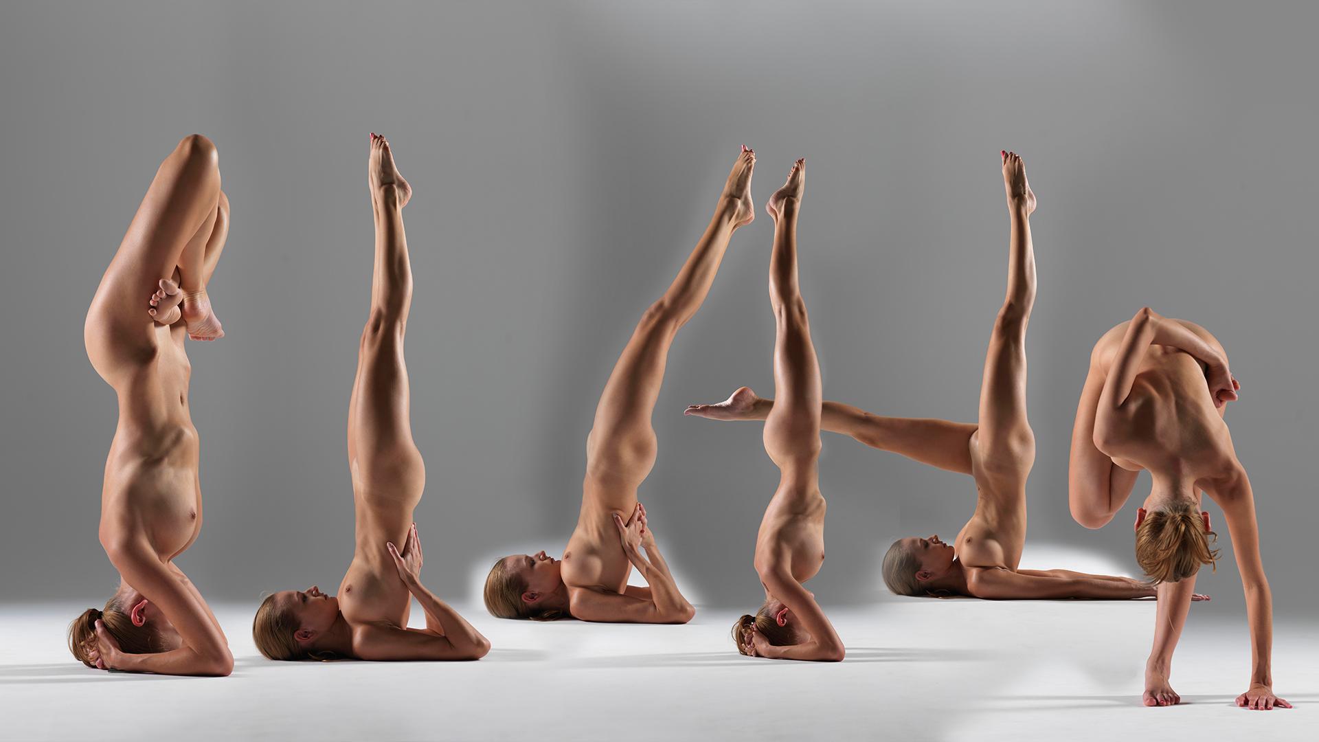 Luba nude yoga