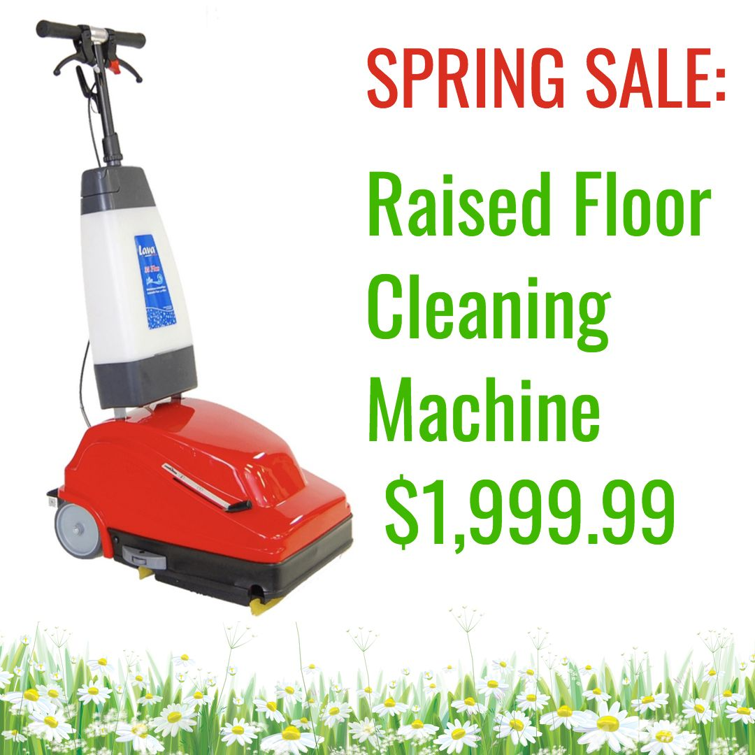 Turbolava 35 Plus Double Squeegee Floor Cleaner Spring