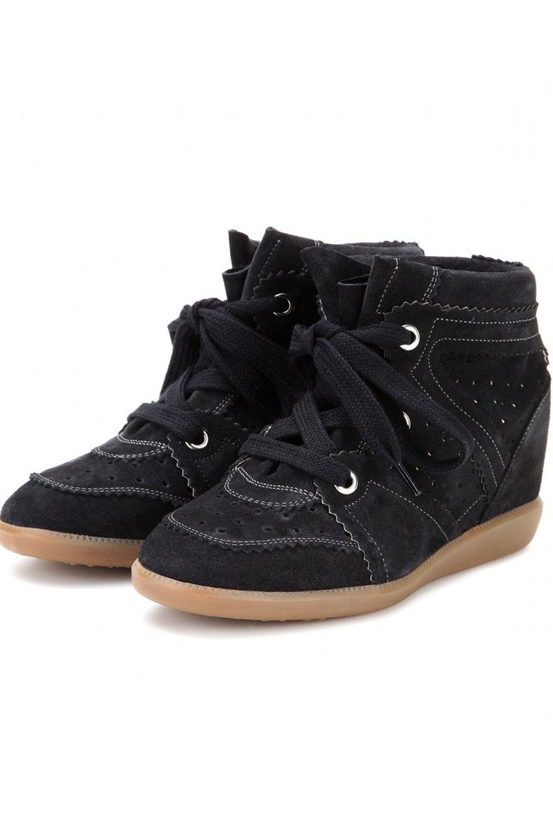 Isabel Marant // Bobby Sneaker in Anthracite & Taupe // $805NZD available now at FABRIC