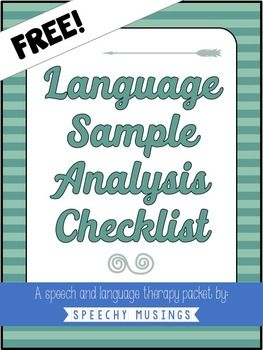 Ever Need A Quick Page Checklist When Doing An Analysis Based On