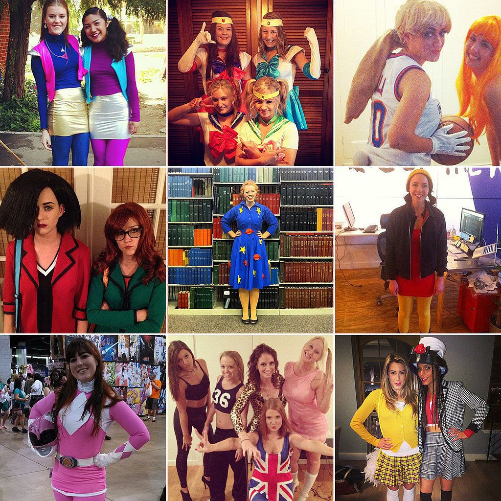 u002790s girl Halloween costume ideas! #90s #the90s  sc 1 st  Pinterest & Be a u002790s Girl in a u002790s World This Halloween   90s girl Halloween ...