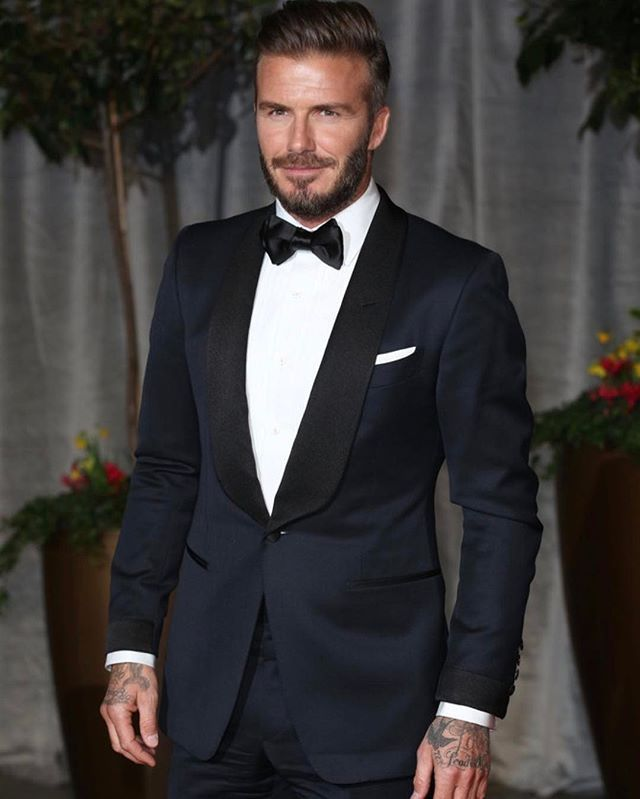 b215d5e2b36d David Beckham in Tuxedo #IconicStyle High Fashion Men, Mens Fashion,  Haircuts, Hairstyles