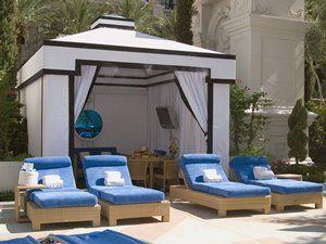 Garden of the gods oasis pool cabanas cabana girl for Garden of gods pool oasis