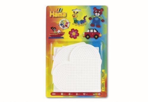 Save $1.22 on Hama / 4-Piece Set of Large Bead Boards for Fuse Beads; only $7.77