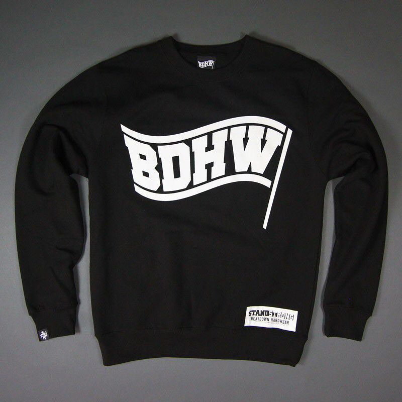 Nicely crew neck sweater from a German beatdown label!