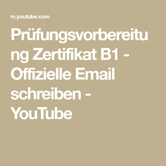 Offizielle Email