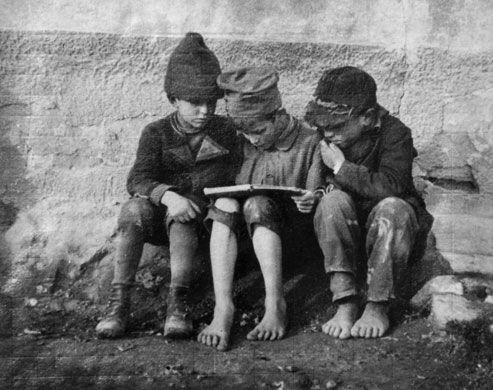 La escuela de los domingos: El aquel de leer