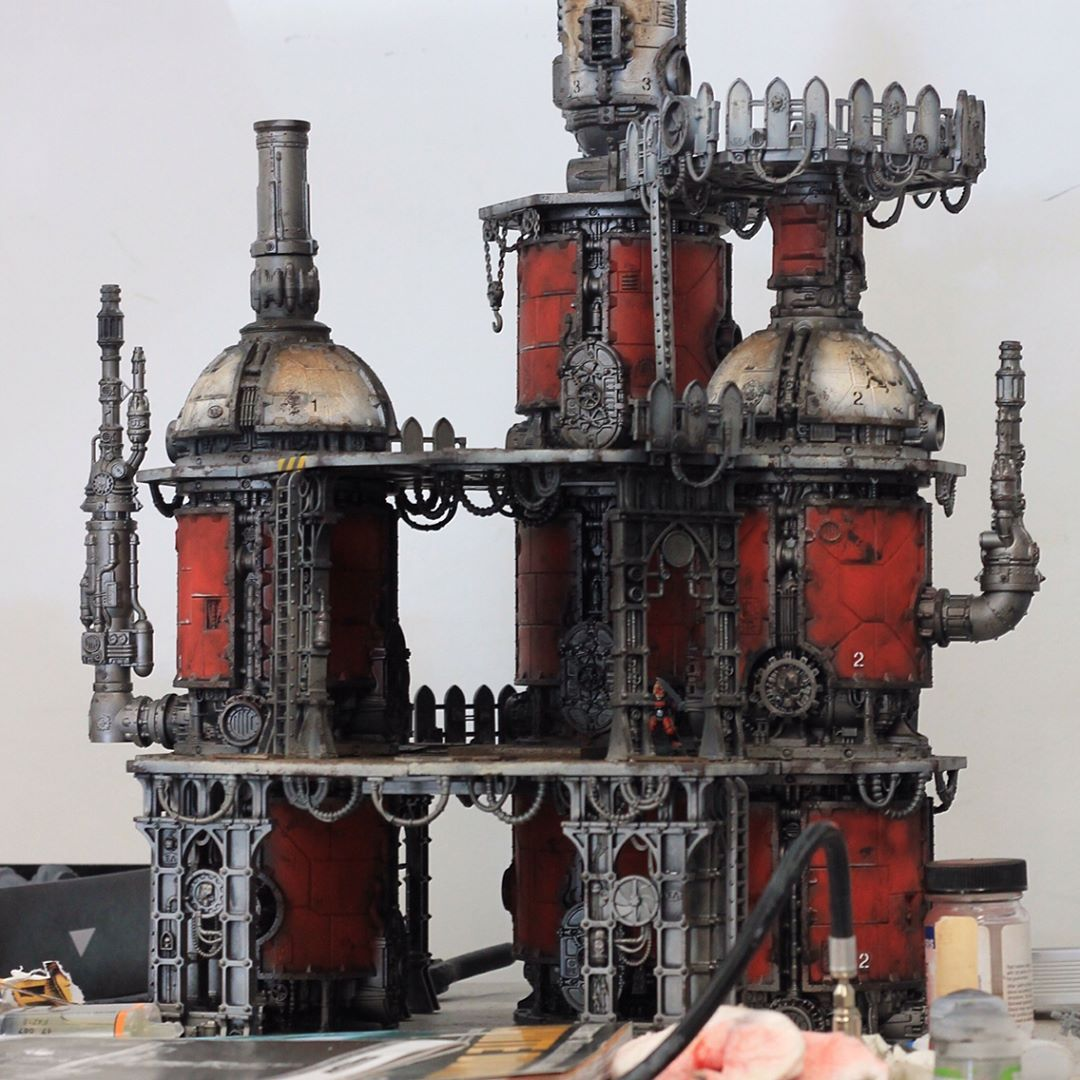 Image Result For Sector Mechanicus 40k