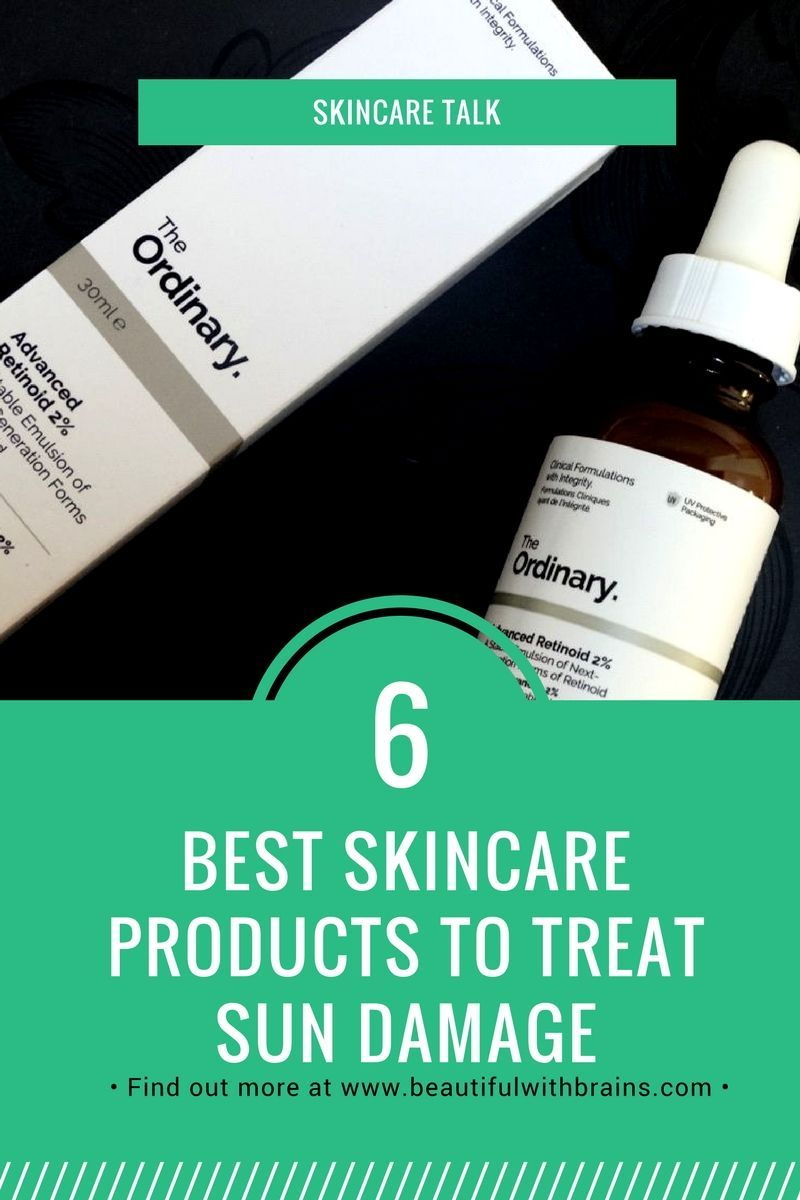 What Are The Best Skincare Products For Sun Damaged Skin Sun Damaged Skin Best Skincare Products Damaged Skin