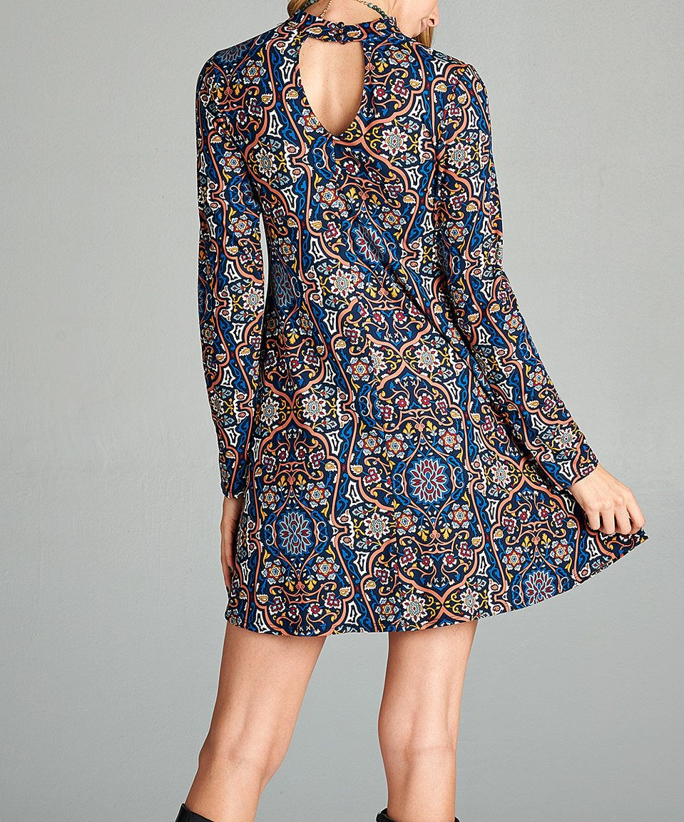 Pink cut out dress  Look what I found on zulily Love Kuza Navy LongSleeve Cutout