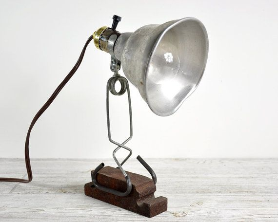 Vintage industrial lamp clamp light industrial by havenvintage vintage industrial lamp clamp light industrial by havenvintage 2800 publicscrutiny Image collections