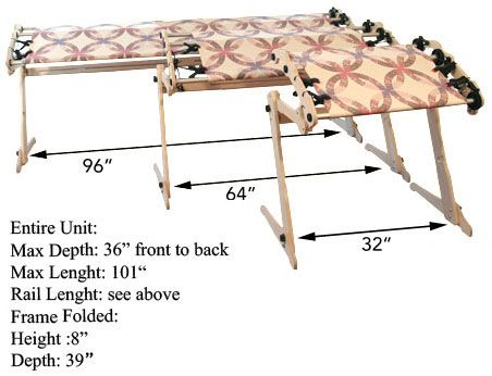 Grace Ez 3 Fabri Fast Hand Quilting Frame Hand Quilting Frames Quilting Frames Hand Quilting