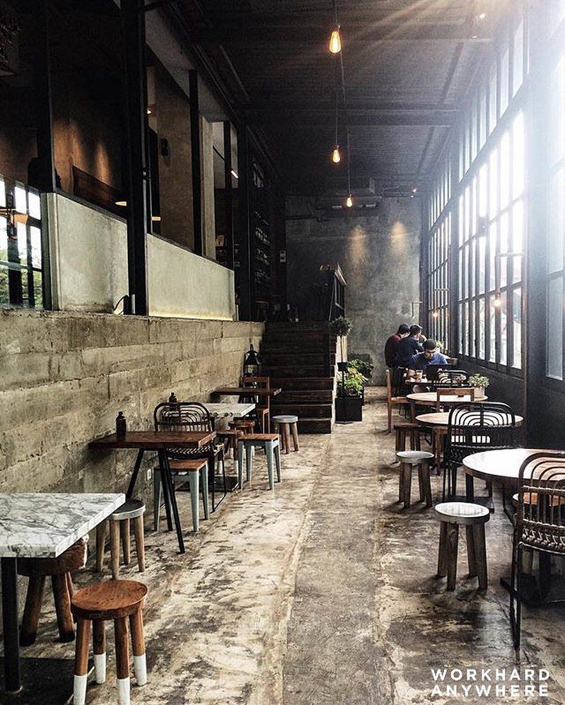 Rustic Crematology Coffee Jakarta Indonesia By Sonnyhosea Download Our App To Discover The Best Coffee Shop Design Rustic Restaurant Coffee Design