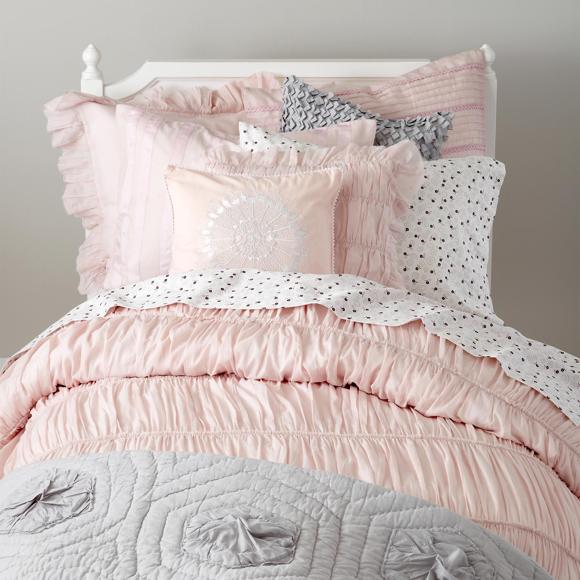 The Land of Nod Girls Bedding Antique Chic Bedding Set