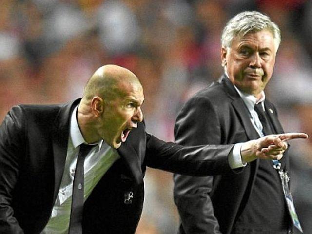 Seis Fotos De Zidane Que Te Vas A Hartar De Ver En Las Redes Sociales Marca Com Zidane Carlo Ancelotti Champions 2014