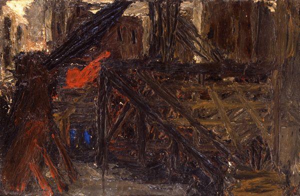 Frank-Auerbach. Building sites