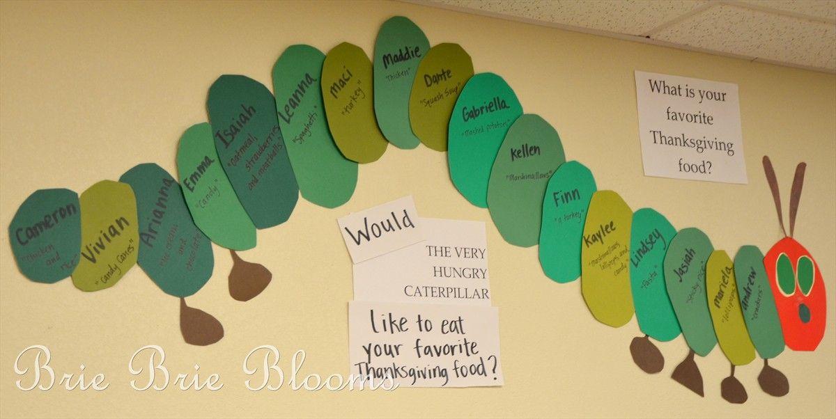 Classroom Ideas And Activities : Classroom fun the very hungry caterpillar wall display